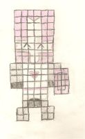 8-Bit Pink Knight. by MarsAssassin