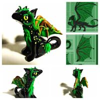 Custom Dragon by LittleCLUUs