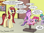 A Clockwork Pink by Pony-Berserker