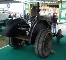 vintage tractor IX by two-ladies-stocks