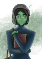 Elphaba Modern College AU by arniearns16