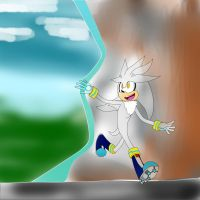 Silver: Painting my world green by rAndoMCitIzen12