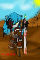 Warrior .:contest entry:. by shadowcorps123