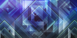 Blue Squares by Kna