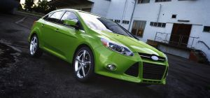 Ford Focus Sedan by TheImNobody