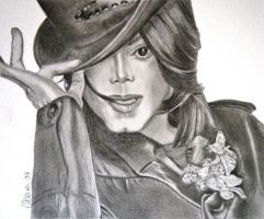 Michael Jackson again by lindabowen