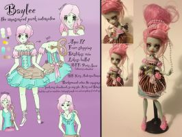Baylee come to life by MyGothicValentine
