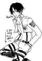 2: Rivaille by Chiechu