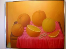 A Painting of Oranges by TheWizardofOzzy