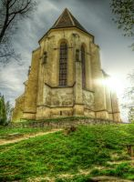 Church on the hill by haxxy