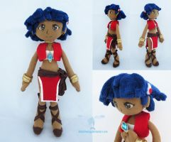 Nadia Plush Doll by dollphinwing
