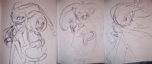 Doodles of the night by sonicgirl11
