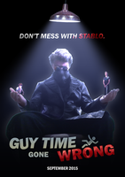 Guy Time Gone Wrong Poster 3 by Hazard-House
