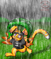 Run in the Rain by Lord-Kiyo