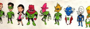 Green Lantern Heroes by Mbecks14