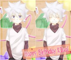 7/7 Happy Birthday Killua! by Rizun27
