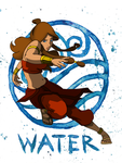 Water - Avatar The Last Airbender by fatalgod23