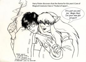 Harry Meets InuYasha by M-Skirvin