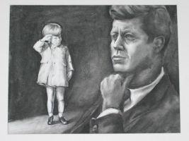 JFK and Junior by boscoz