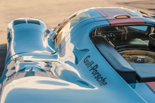 1969 Gulf Porsche 917, chassis 017/004: detail 2 by rubrduk