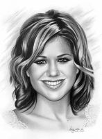 Kelly Clarkson by imaginee