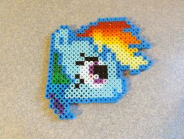 Melty Beads Rainbow Dash by Squeemishness