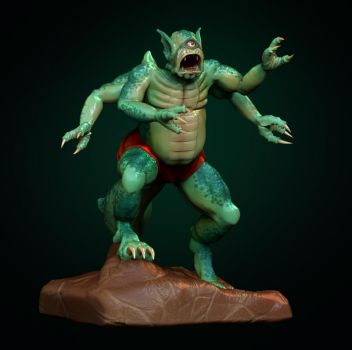 Creature-1 by captonjohn