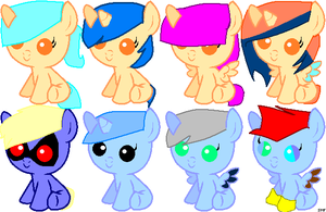 Free Baby Ponies-No Points! by ISweetPaint4Ever
