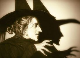 Wicked Witch of The West by TheNightGallery