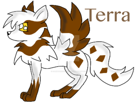 Terra-Ultra Rare Mythical Fox OC by DarkTheExcadrill