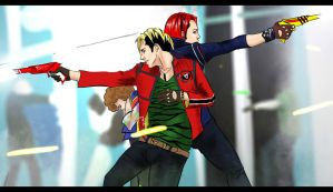 Party Poison and The Kobra Kid by Evymonster9406