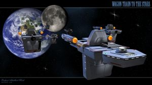 Wagon Train to the Stars by richmerk