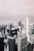 Chicago from the Sears Tower 1 by IanTheRed
