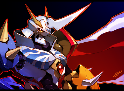 Omnimon by Tomycase