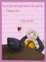 Valentine's Day Card - My Love For You by I3-byUsagi