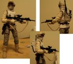 Finished custom 6 inch Black series Hoth trooper by toyphototaker