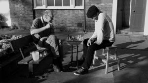 Two Gents Playing Chess by kizgoth