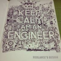 keep calm, I am engineer by aslah92