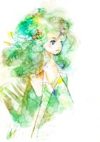 FF IV: Rydia of Mist by muttiy
