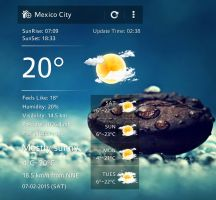 U Weather 2 for xwidget by jimking