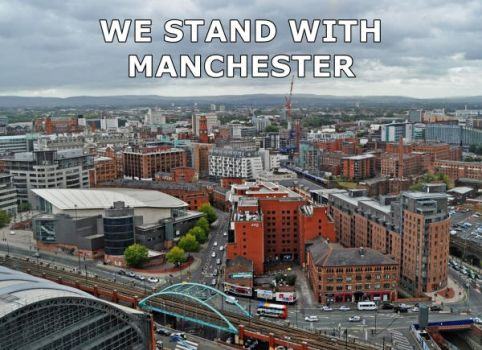 We stand with Manchester by Niagara14301