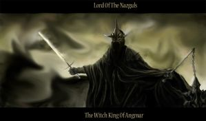 The Witch King Of Angmar by Subkulturee