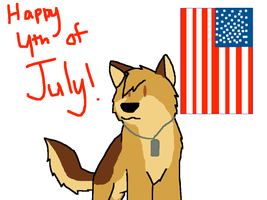 Happy 4th of July by TheCamoWulf