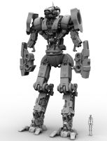M.I.D.E. WIP 110 - New Arms by Donvius