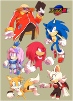 [EARTH-4] Sonic Adventure 2 ~Added Description~ by Cylent-Nite
