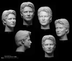 Michael J Fox Collage by TrevorGrove