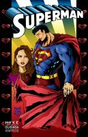Superman and Lois by Mykemanila