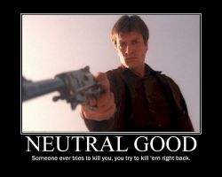Neutral Good Malcolm Reynolds2 by 4thehorde