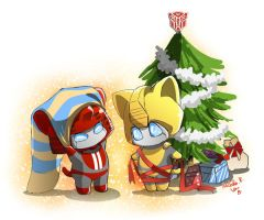 the Christmas gifts by umitaro