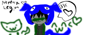 Nepeta Leijon being cute by u-ok-england